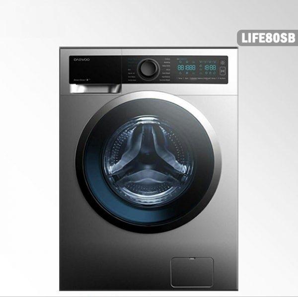 خرید اینترنتی لباسشویی دوو سری ذن لایف مدل DWK-LIFE80