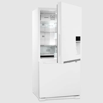 کالای با کیفیت ایرانی یخچال فریزر دوو 0028 یخساز دار وصل به شیر اب entekhabclick.com