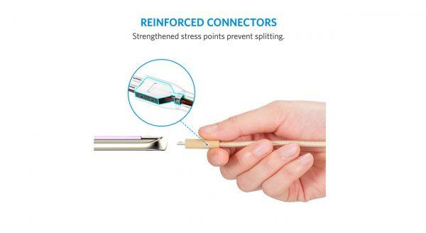 مشخصات ، قیمت و خرید کابل شارژ و انتقال اطلاعات برند انکر