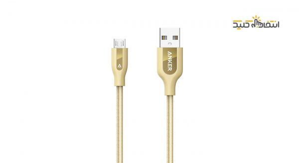 مشخصات ، قیمت و خرید کابل شارژ و انتقال اطلاعات usb گوشی های اندروید برند انکر
