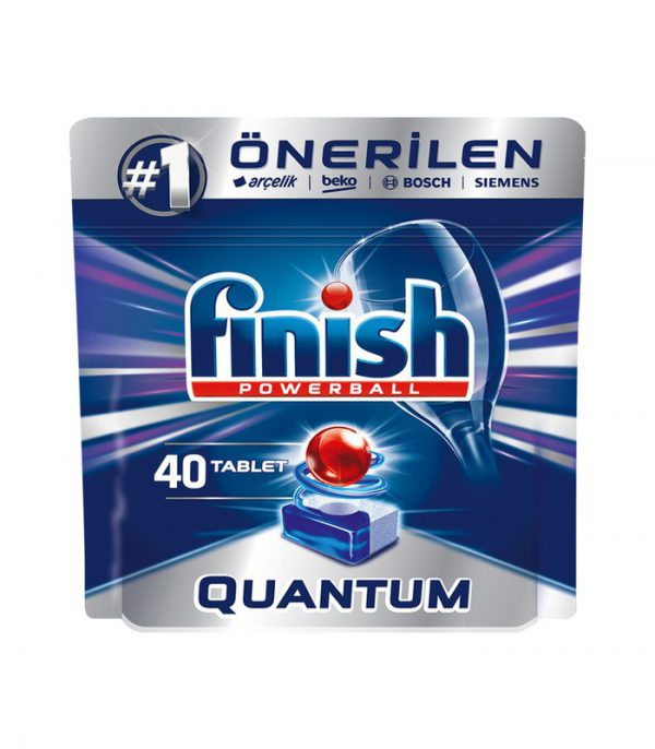 قرص ظرفشویی فینیش مدل Quantum بسته 40 عددی