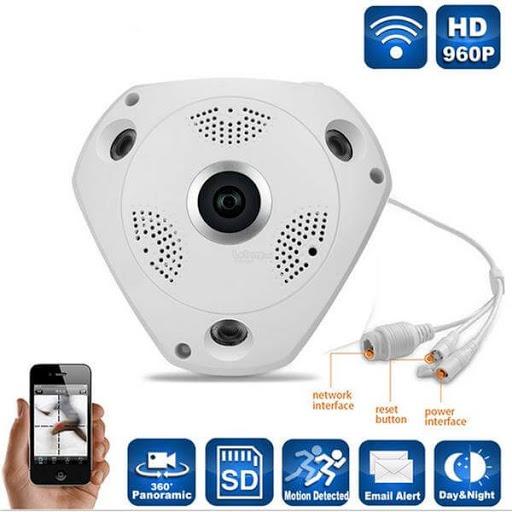 دوربین وایفای 360 درجه VR CAM شبکه