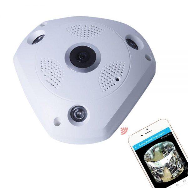 دوربین وایفای 360 درجه VR CAM پانورامیک