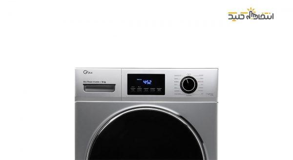 ماشین لباسشویی 8 کیلویی جی پلاس مدل GWM-J8470S