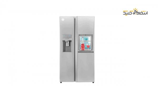 یخچال فریزر ساید بای ساید مدل S8-2322SS سری Snowa Hyper