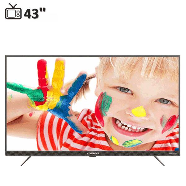 تلویزیون هوشمند ایکس ویژن 43XK745