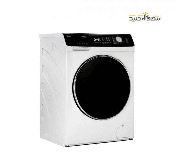 ماشین لباسشویی جی پلاس مدل GWM-K846W ظرفیت 8 کیلوگرم