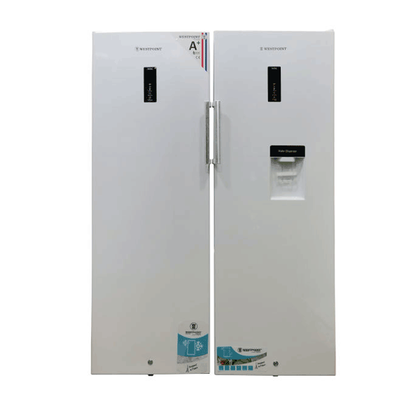یخچال و فریزر دوقلو وست پوینت مدل WVNC-2619VERK-WNMC-3619ERWDK