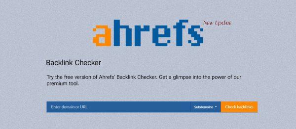 آیتم های جدید در Ahrefs