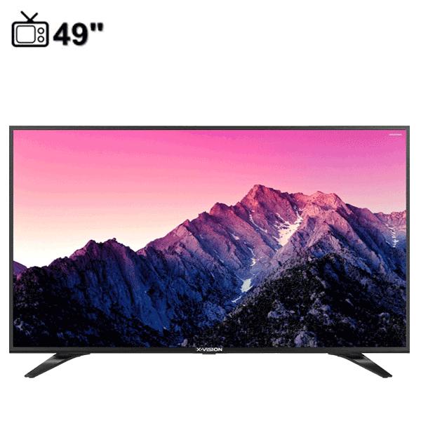 تلویزیون ال ای دی ایکس ویژن مدل 49XT540 سایز49 اینچ