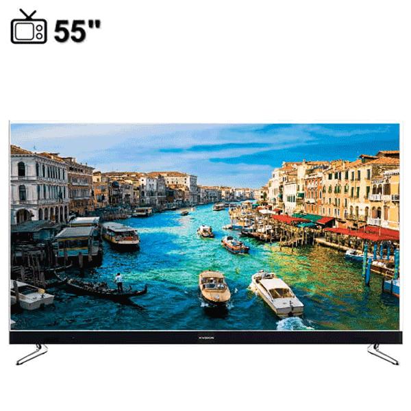 تلویزیون ال ای دی هوشمند ایکس ویژن مدل 55XKU575 سایز55 اینچ
